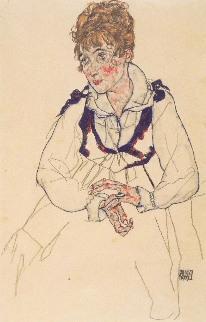 Edith Schiele, Egon Schiele